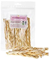 """100g Braided Lamb Skin (Approx 10 Sticks) 6"""" Inch Natural Dog Treat Made from just one single ingredient- top quality lamb. No additives, no preservatives nothing! Grain Free - Gluten Free - Wheat Free. Great for small & medium dogs & those dogs with..."""