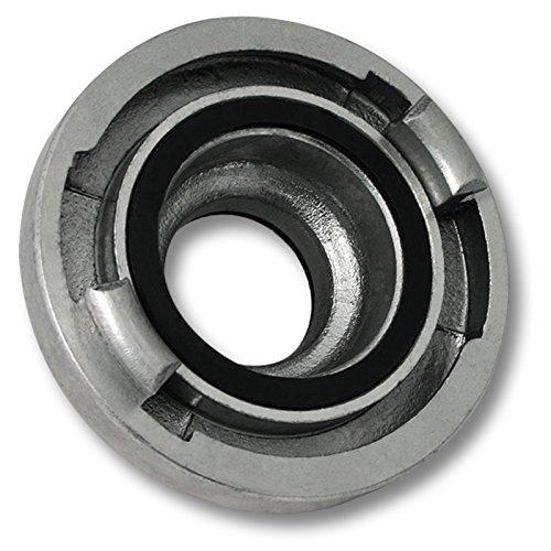 Wiltec Übergangsstück Storzkupplung B 75 mm auf C 52 mm aus Alu