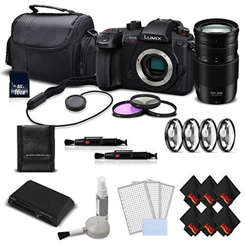 Panasonic Lumix DC-GH5S Camera + Panasonic Lumix G Vario 100-300mm f/4-5.6 II Lens
