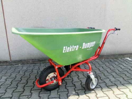 POWERPAC Wanne 180ltr. passend für ED120 – AKKUSCHUBKARRE ELEKTROSCHUBKARRE SCHUBKARRE DUMPER MOTORSCHUBKARRE - 2