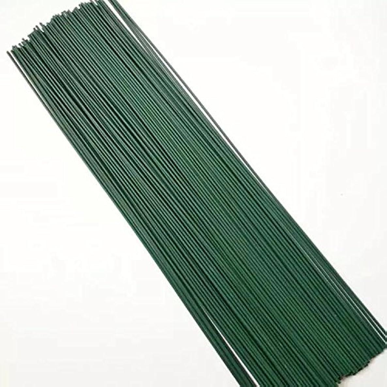 100 Pcs 40 CM Green Floral Wire