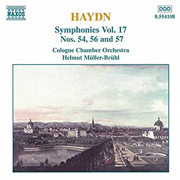 Haydn: Symphonies, Vol. 17 (Nos. 54, 56, 57)