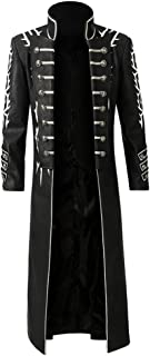 Devil May Cry 5 Vergil Cosplay Costume Outfit DMC Cosplay Jacket Halloween Costumes