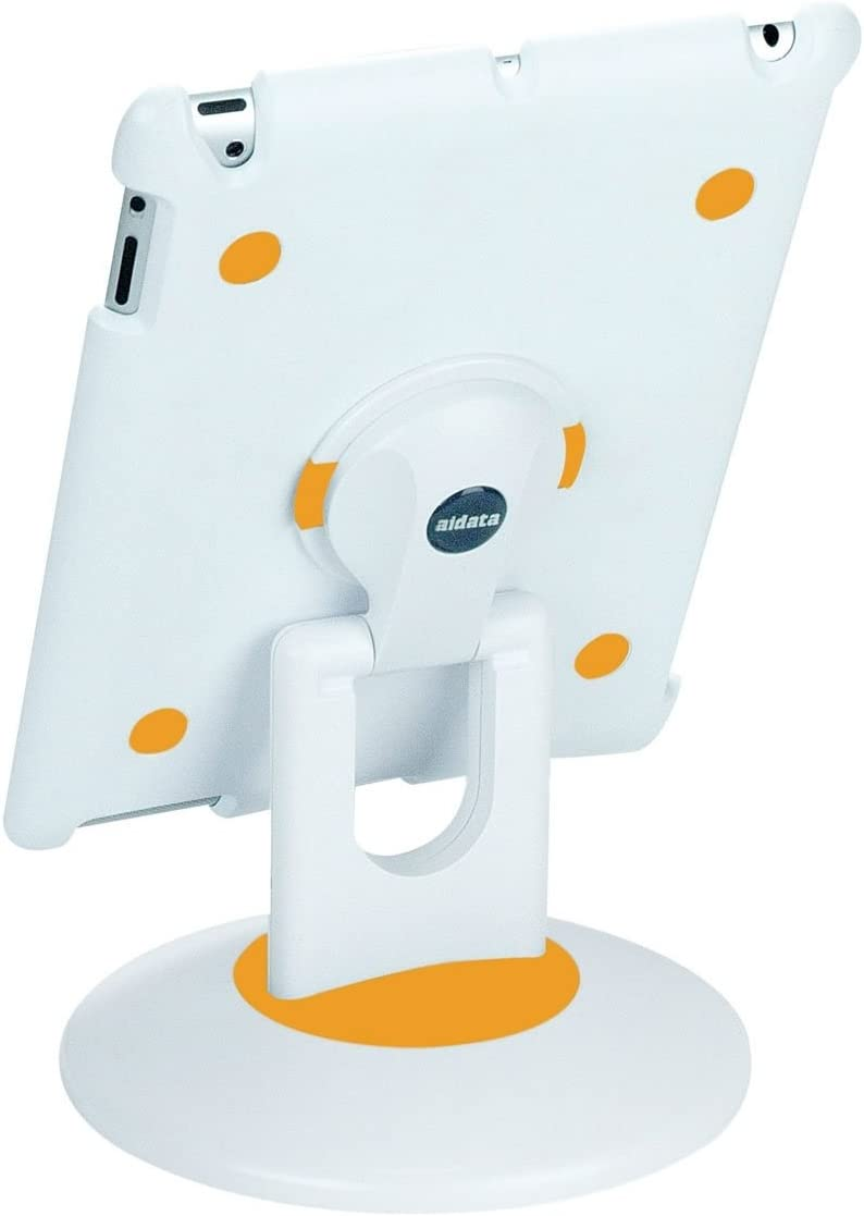 Aidata ISP203WO Spin Station Multifunction 2 for iPad Stand Classic Whi Latest item