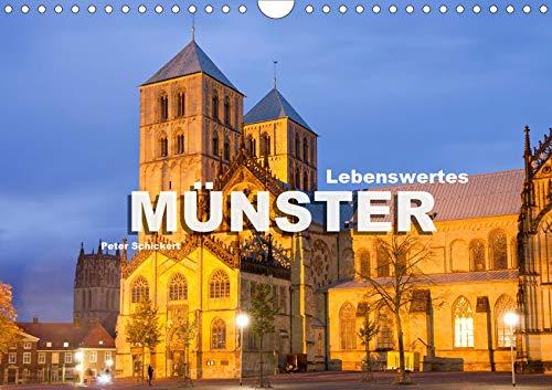 Lebenswertes Münster (Wandkalender 2020 DIN A4 quer): Die wunderbare Stadt Münster in einem Kalender vom Reisefotografen Peter Schickert. (Monatskalender, 14 Seiten ) (CALVENDO Orte)