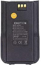 TYT Original Battery Pack for MD-380/MD-UV380 Ham Radio,7.4V 2000mAh Li-ion Battery Backup Battery,Black (1 Pack)