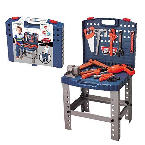 68 Piece Kids Toy Workbench W...