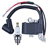 Ignition Coil Module Spark Plug Kit For HUSQVARNA 235 136 137 141 23 26 36 41 Chainsaw Parts