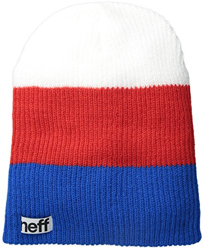 NEFF Trio Bonnet Bleu/Rouge/Blanc FR : Taille Unique (Taille Fabricant : Taille Unique)