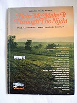Paperback Grammy Award Winner Help Me Make It Through the Night Plus All the Best Country Songs of the Year Book