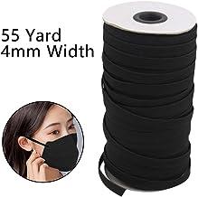 auch super zum N/ähen f/ür Mundschutz Gesichtsmasken Gummiband Elastikband wei/ß Schutzmasken Einziehgummi TrendyMaker at+de 5 Meter Gummi 8 mm breit