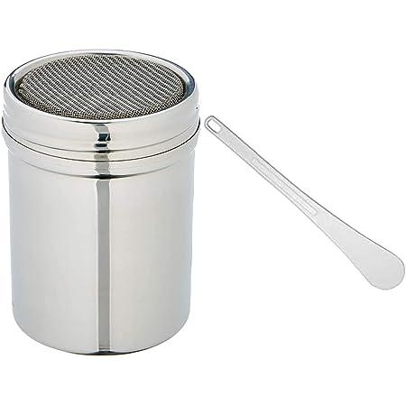DE BUYER -4782.01N -saupoudreuse INOX Toile Metal.ø6ht8cm & 4745.30 -spatule Blanche en polyglass l. 30cm