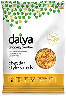 Daiya Cheddar Style Shreds, 8 Ounce -- 12 per case.