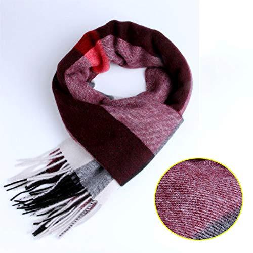 OHMTJP super zachte dikke warme deken sjaal | geruite Tartan sjaals dames | geschenken | sjaals vrouwen | grote oversized | vriendin cadeau