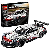 LEGO Technic Porsche 911 RSR 42096 Race Car Building Set STEM Toy for Boys and Girls Ages 10+ features Porsche Model Car with Toy Engine (1,580 Pieces)