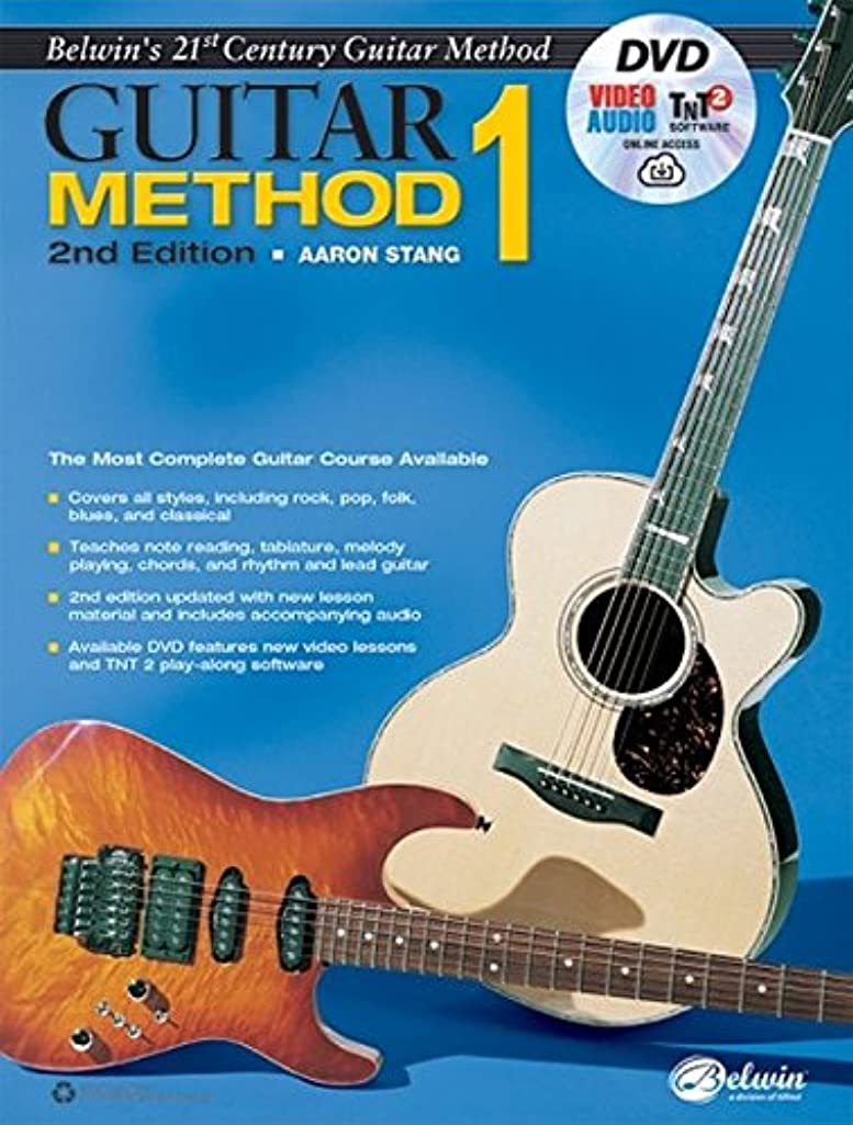 Belwin's 21st Century Guitar Method, Bk 1: The Most Complete Guitar Course Available, Book, DVD & Online Audio, Video & Software (Belwin's 21st Century Guitar Course)