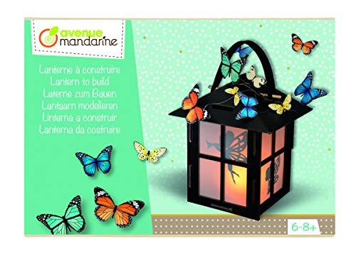 Avenue Mandarine CO168C Kreativset (mit Laterne zum Zusammenbauen, einfache Anleitungen, die Kindern ermöglichen mit Spaß ihre Kreativität zu entwickeln und zu entfalten, geeignet ab 6 Jahren) 1 Pack