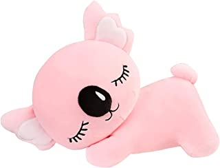 Mopoq Koala Plush Toy Beautiful Pet Doll is Very Suitable for Hugging and Snuggling Cute Animal Koala Plush Toy Stuffed Doll Birthday Presents for Children Kids ( Color : Pink , Size : 75cm )