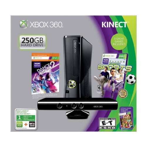 Xbox 360 + Kinect Holiday Bundle