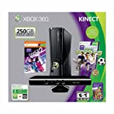 xbox 360 console 250gb bundle - Xbox 360 250GB with Kinect Holiday Value Bundle