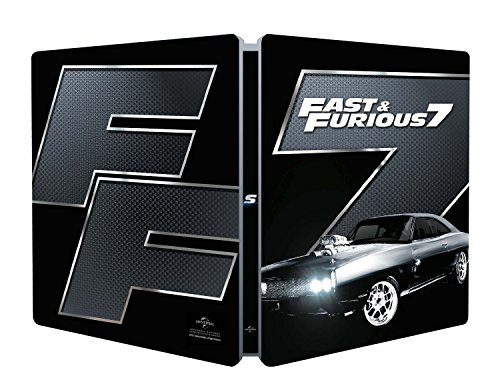 Blu-Ray - Fast And Furious 7 (Steelbook) (1 Blu-ray)