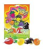DinDon JU-C Jelly Fruity Snacks Golosinas de Sabores 11.8 oz Bag 3 Pack (JU-C Jelly)