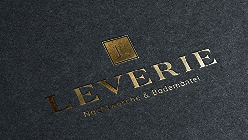 LEVERIE Elegant Dressing Gown Made in The EU for Men with Elegant Pattern