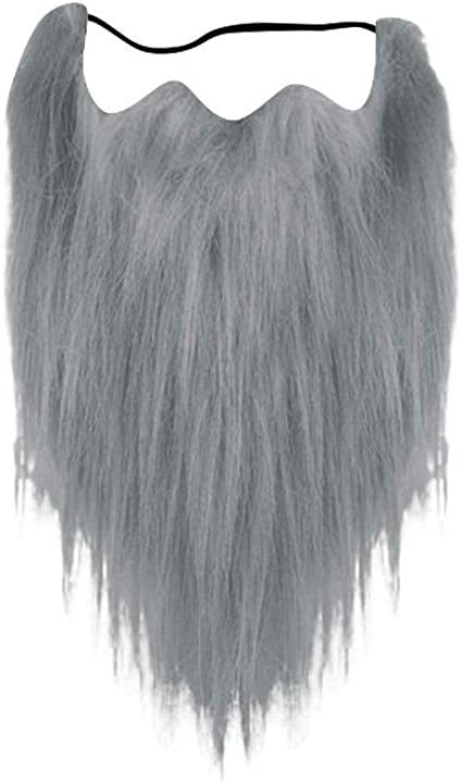 Linyuex Apoyos Beard Falso Falso Falso Barba-Barba del Bigote ...