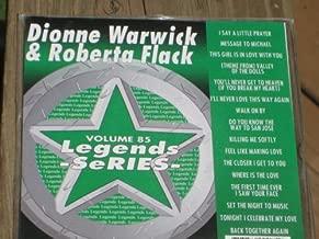 LEGENDS Karaoke CDG Vol.85 DIONNE WARWICK and ROBERTA FLACK