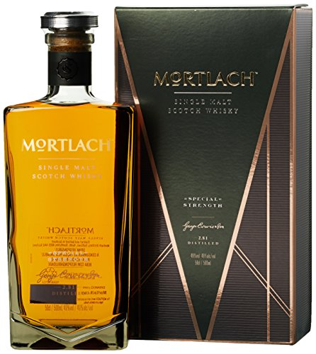 Mortlach Single Malt Scotch Whisky Special Strength mit Geschenkverpackung (1 x 0.5 l)
