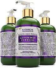 BOTANICAL HAIR GROWTH LAB - Volume Conditioner - Lavender Cypress - Sensitive Scalp/Hair Rejuvenating Formula - For Hair Loss Prevention Alopecia Postpartum DHT Blocker - 10.2 Ounce