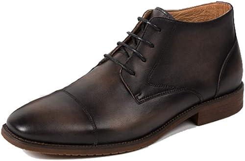 Zapatos De Hombre Martin botas Botines Inglaterra Casual Moda Retro Transpirable Cómodo