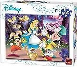 King- Rompecabezas de Alicia en el País de Las Maravillas de Disney, 500 Piezas (55914)