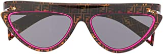 Luxury Fashion | Fendi Womens FF0383S0T4IR Fuchsia Sunglasses | Spring-Summer 20