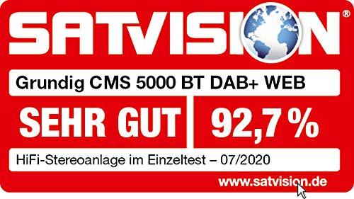 Grundig CMS 5000 BT DAB+ Web Micro HiFi Anlage