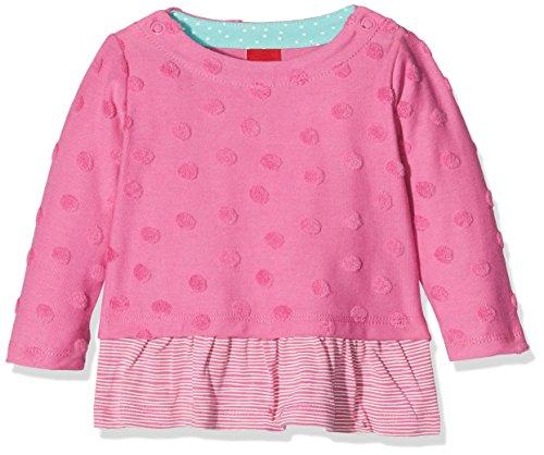 s.Oliver s.Oliver Baby-Mädchen 65.801.41.4665 Sweatshirt, Rosa (Pink 4451), 80