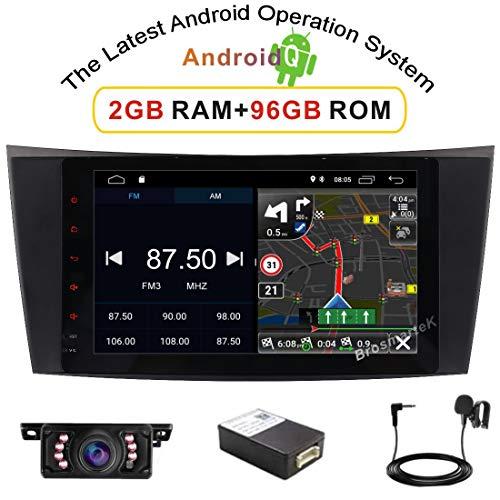 Android-Autoradio-Radio mit Android 10-System 8 Im IPS-Panel unterstützt Navi DAB + für Mercedes-Benz E-W211 GPS-Navigation/Canbus/Bluetooth/WiFi / 4G Aus dem britischen Lagerversand