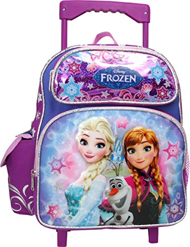 Disney Frozen Toddler 12 inches Mini Rolling Backpack