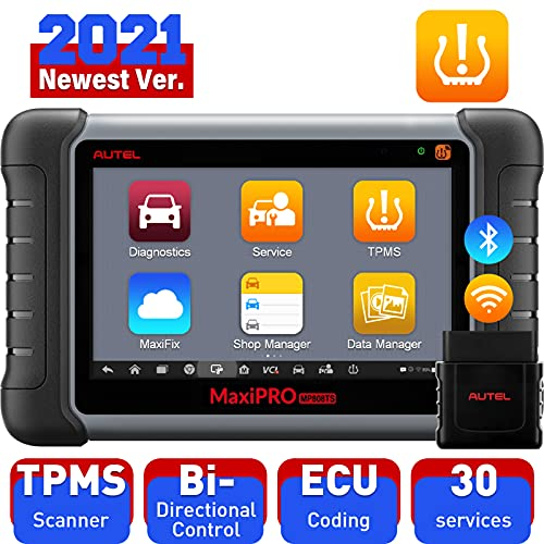 Autel MaxiPRO MP808TS Auto Diagnostic Scanner, OBD2 Scan Tool (Combination of DS808 and TPMS) including Comprehensive TPMS Solutions and Full Diagnostic Functions with WIFI Bluetooth
