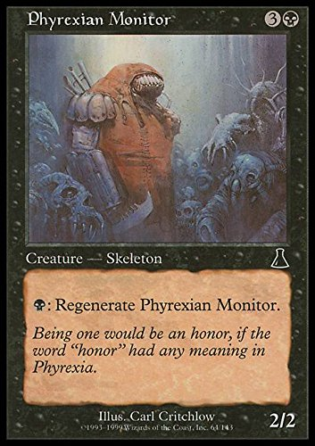 Magic: the Gathering - Phyrexian Monitor - Sorvegliante di Phyrexia - Urza's Destiny