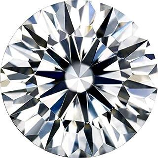 Diamonbella Brilliant 10 Hearts 10 Arrows Loose Simulated Diamond Ideal Round Cut (7 to 12mm)