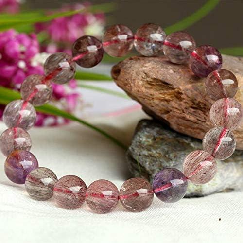 GEMS-WORLD Fashion Beads Gemstone Superlatite 1 Strands Super Mix Natural Red Purple