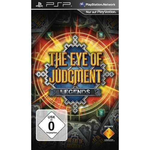 The Eye of Judgment Legends - [Sony PSP]