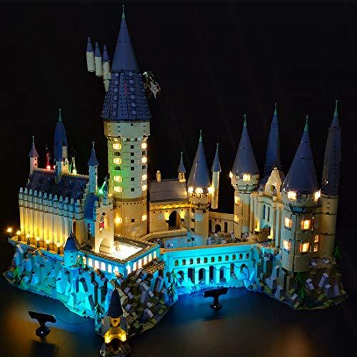 SICI - Juego de iluminación LED para candados de LEGO Harry Potter Hogwarts, iluminación compatible con Lego 71043 Hogwarts modelo (no incluye juego Lego)