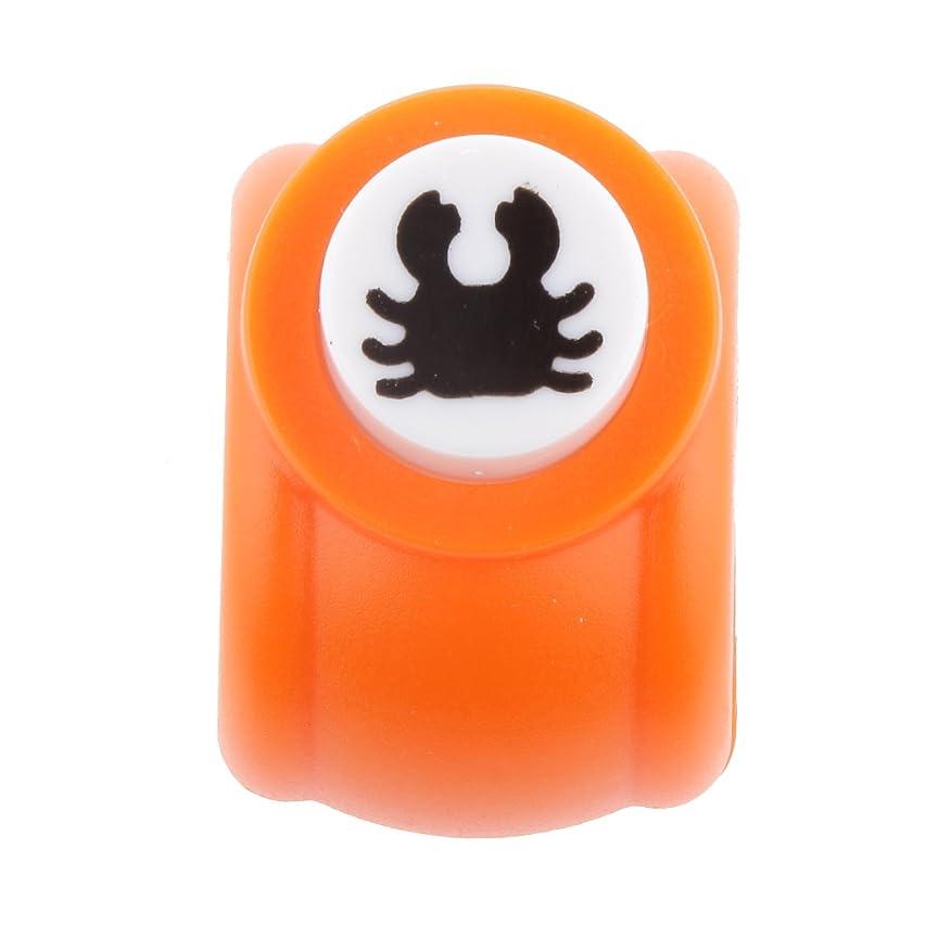 ラップトップ命題今晩joyMerit クラフトパンチ 穴あけパンチ DIY 手芸 道具 手作り バースデーカード 全10パターン - 蟹
