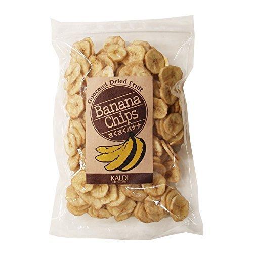 キャメル珈琲『カルディコーヒーファーム さくさくバナナチップス』