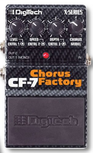 Digitech CF-7 Chorus Factory Effektpedal