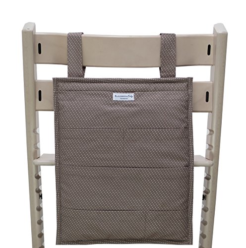 Blausberg Baby - Utensilo pour Stokke Tripp Trapp chaise haute - taupe petits pois