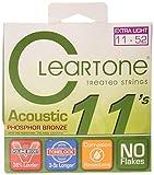 Cleartone 7411 Custom Acoustic Guitar String, Light