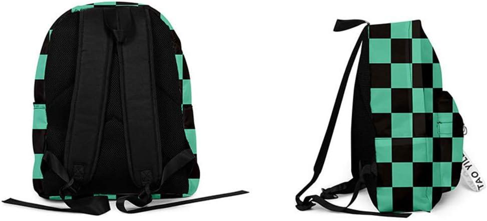 Kimetsu no Yaiba Schoolbag Backpack Satchel Laptop Bag Hiking Demon Slayer